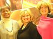 Cheryl Cousins, JoAnne Lenart-Weary and Carol Bass of One Day Decorating